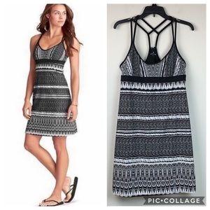 Athleta coastline sun/swim material mini dress EUC